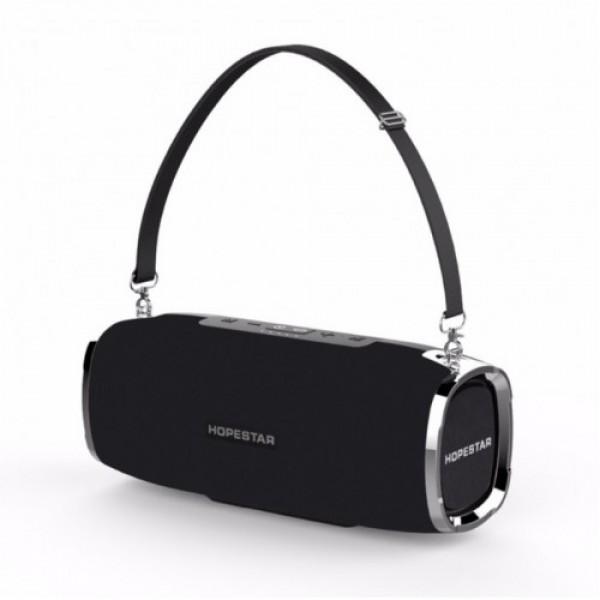 Мощная портативная bluetooth колонка Sound System A6 Pro Hopestar Оригинал Черная - изображение 1