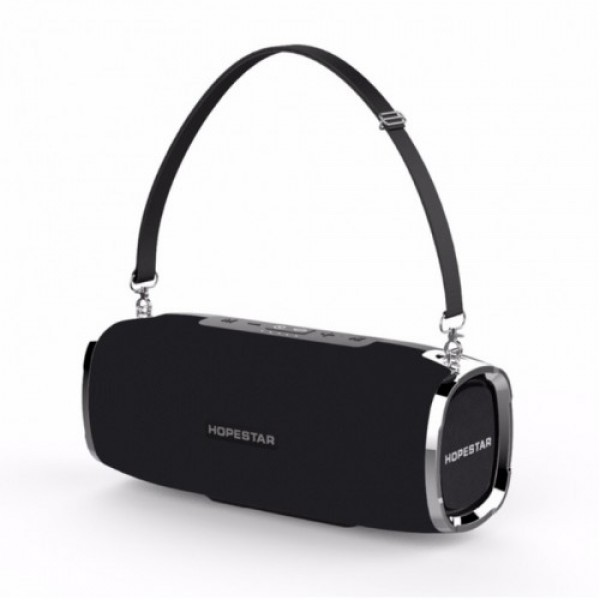 Потужна портативна bluetooth колонка Sound System A6 Pro Hopestar Оригінал Чорна - зображення 1