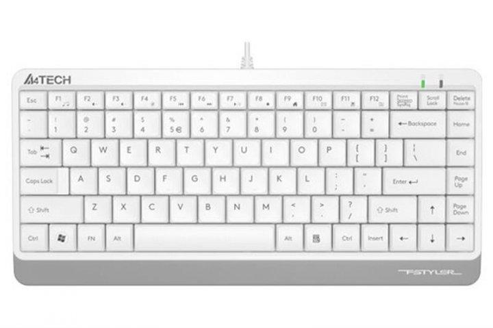 Клавиатура A4Tech FK11 White USB - изображение 1