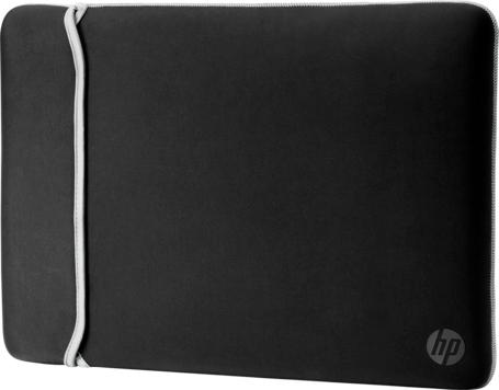 Чехол для ноутбука HP Chroma Sleeve 15.6 Black/Silver (2UF62AA) - изображение 1