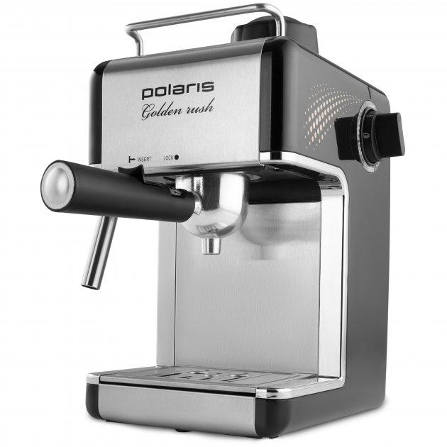 Кофеварка эспрессо POLARIS PCM 4006A Golden rush - изображение 1