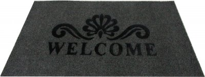 Придверний килимок IzziHome Luna Italyan 40х60 Gri (2200000548931)