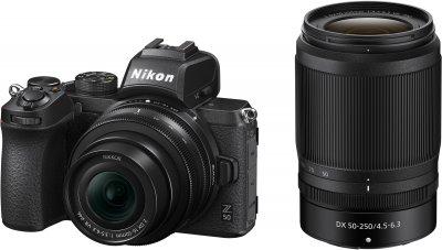 Фотоапарат Nikon Z50 + DX 16-50 mm VR + DX 50-250 mm VR Kit (VOA050K002) Офіційна гарантія!