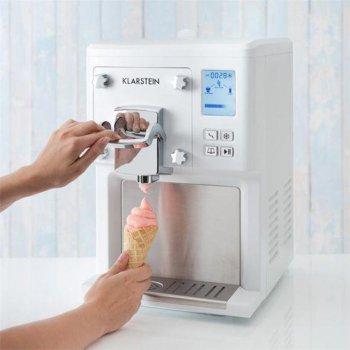 Машина для морозива Klarstein Jen Berry 4-in-1 (10031374) біла