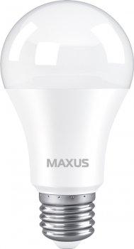 Лампа світлодіодна MAXUS A60 10 Вт 3000 K 220 В E27 (1-LED-775)