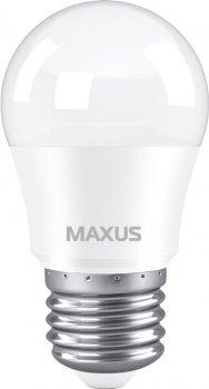 Лампа светодиодная MAXUS G45 5 Вт 3000 K 220 В E27 (1-LED-741)