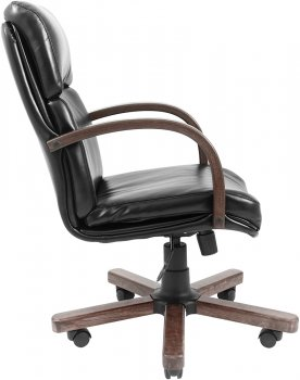 Кресло Rondi Зевс Вуд Орех ordf Anyfix Черное (1410198560)