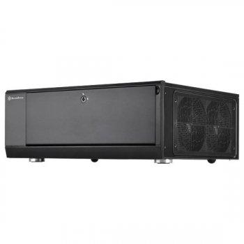 Корпус SilverStone GRANDIA GD10B,Extended ATX / SSI-EEB,USB3.0*2,3*120мм,безБП,чорний