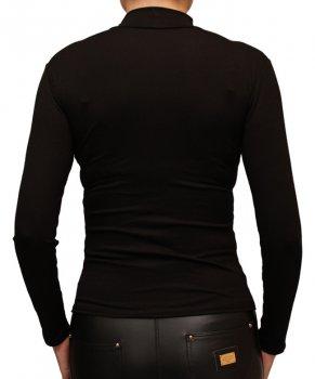 Водолазка женская из вискозы черная