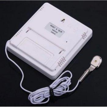 Цифровой термометр, гигрометр, метеостанция, часы HTC-2 + выносной датчик