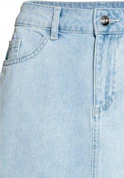 Спідниця джинсова H&M 514865612 Світло-блакитна