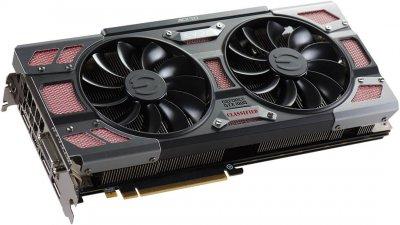 EVGA PCI-Ex GeForce GTX 1080 Classified Gaming 8GB GDDR5X (256bit) (1721/10000) (DVI, HDMI, 3 x DisplayPort) (08G-P4-6386-KR)