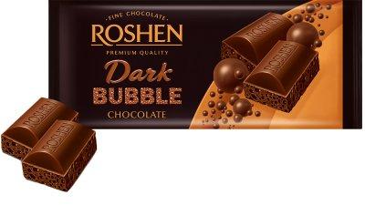 Упаковка шоколаду Roshen Екстрачорний пористий 80 г х 20 шт. (4823077626210)