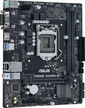 Материнська плата Asus Prime H410M-R-SI (s1200, Intel H410, PCI-Ex16)