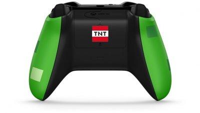 Безпровідний геймпад Microsoft Xbox Wireless Controller Minecraft Creeper (WL3-00057)
