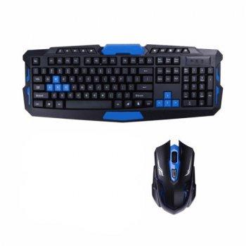 Бездротова ігрова клавіатура і миша UKC HK-8100 (par_KEY 8100 3253)