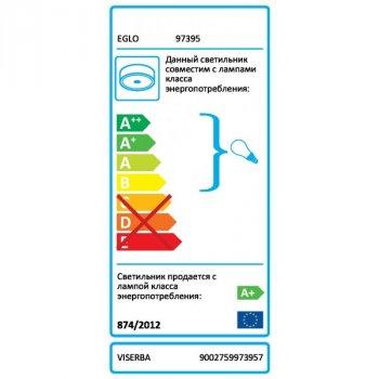 Світильник настінно-стельовий Eglo VISERBA (97395)