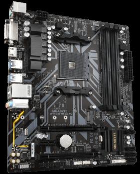 Материнская плата Gigabyte B450M DS3H V2 (sAM4, AMD B450, PCI-Ex16)