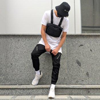 Теплые брюки карго Over Drive Angry Zipp черные