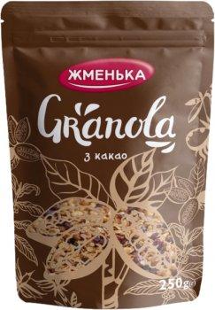 Упаковка гранолы Жменька с Какао 250 г х 12 шт (4820152182227)