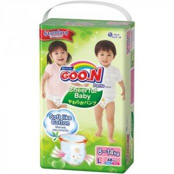 Підгузник Cheerful Baby Трусики 8-14 кг L, унісекс, 48 шт (853881)