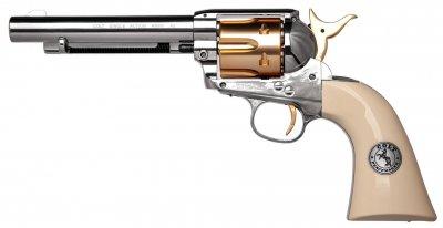 Пистолет пневматический Umarex Colt Single Action Army 45 (пульки) Gold