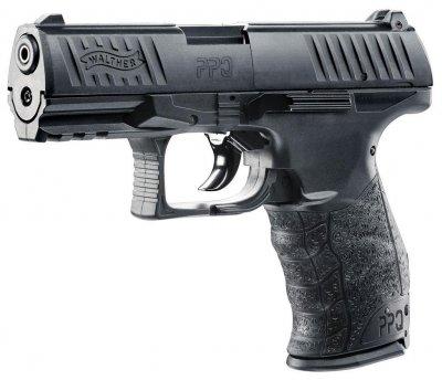 Пистолет пневматический Umarex Walther PPQ черный (5.8160)