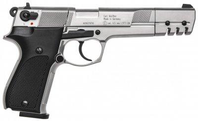 Пистолет пневматический Umarex Walther CP88 Competition никель (416.00.08)