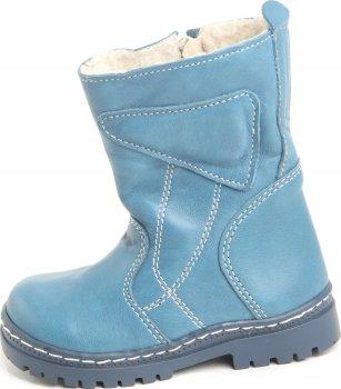 Сапоги кожаные Kapchitsa AS-131302-Blue Синие
