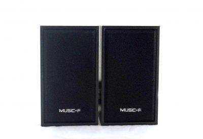 Колонки для ПК комп'ютера GBX Music-F D-9A Black (006585)