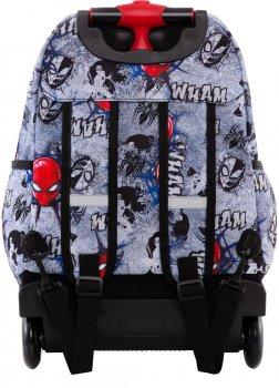Рюкзак CoolPack Jack Spiderman на колесах 24 л 44х31х19 см (B53303)