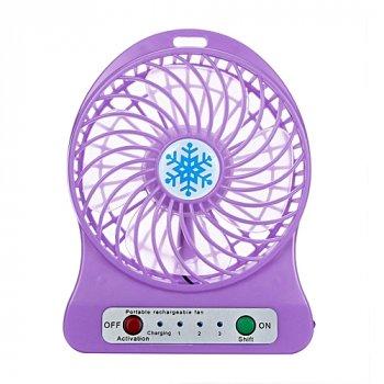 Міні-вентилятор Portable Mini Fan Purple (tc-298)