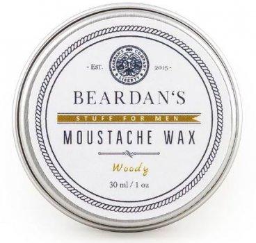Віск для вусів Beardans, Woody, 30 мл R152347