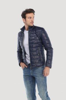 Кожаная куртка Giorgio di Mare Синяя (GI9915484)
