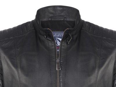 Кожаная куртка Giorgio di Mare Черная (GI2393863)