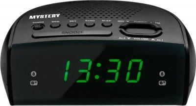 Радіогодинник Mystery MCR-25 Black-Green