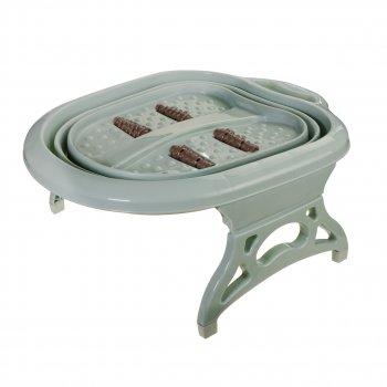 Массажная ванночка для ног складная Supretto ванночка массажер для ног педикюра и релакса RDG-987