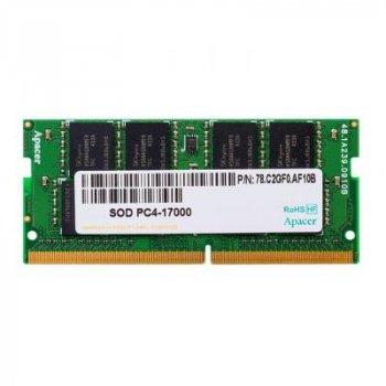 Модуль памяти для ноутбука SoDIMM DDR4 4GB 2133 MHz Apacer (AS04GGB13CDTBGH)