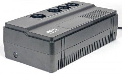 Блок безперебійного живлення APC Back-UPS BV650I-GR (650ВА/375Вт, Апроксимована синусойда, Line Interactive, 4xSchuko)