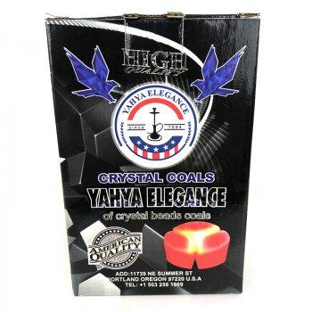 Вугілля кокосовий для Кальяну Yahya Elegance 1 кг під калауд