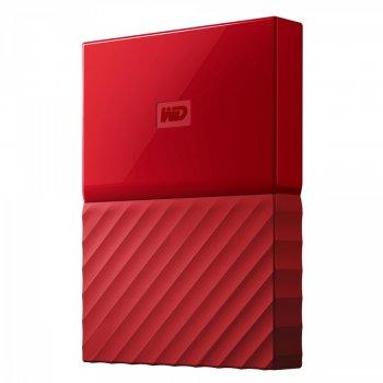 Жорсткий диск Western Digital My Passport 1 TB Red WDBYNN0010BRD (SA620454)