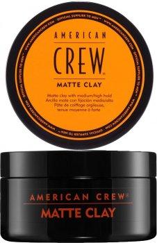Матова глина American Crew Matte Clay для стайлінгу 85 мл (669316457078)