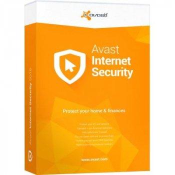 Антивірус Avast Internet Security 1 ПК на 1 рік (нова ел. ліцензія) (AVAST-IS-8-B-1Y-1P)
