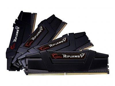 Оперативна пам'ять G. Skill DDR4 64Gb Kit (4x16GB) 3200 MHz Ripjaws V (F4-3200C15Q-64GVK)