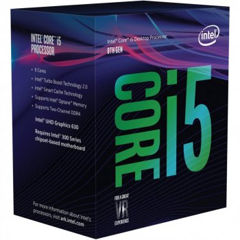 Процесор Intel Core i5-8600 (3.1 GHz, 8MB, s1151) (BX80684I58600) Box