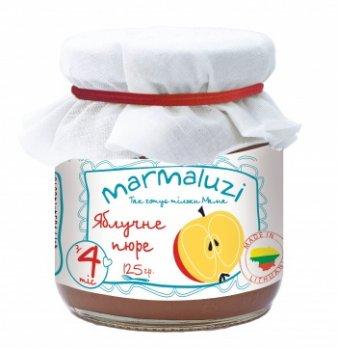 Пюре Marmaluzi Яблуко, 125 г (064580)