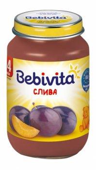 Фруктове пюре Bebivita Зливу, 190 г (093256)