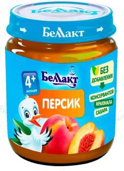 Пюре Беллакт Персик, 100 г (250173)
