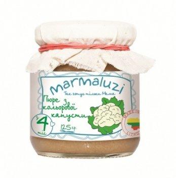 Пюре Marmaluzi з кольорової капусти, 125 г (069948)