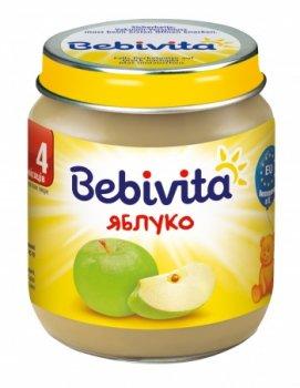 Фруктове пюре Bebivita Яблуко, 125 г (093937)